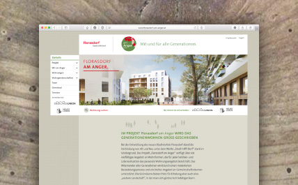 Website Florasdorf am Anger