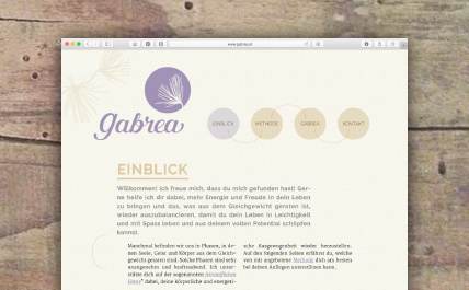 Corporate Design Gabrea